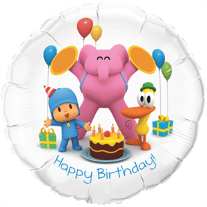Happy Birthday Pocoyo Balloon in a Box