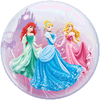 Disney Princess Swirls Bubble Balloon in a Box