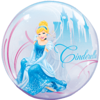 Cinderella Princess Castle & Carriage  Balloon in a Box
