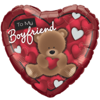 Boyfriend Gift Love Bear Balloon in a Box