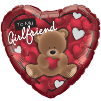 Girlfriend Gift Love Bear Balloon in a Box
