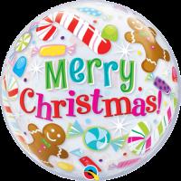 Christmas Candies & Treats Bubble Balloon in a Box