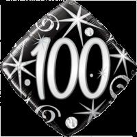 Elegant 100th Birthday Balloon in a Box