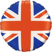 Union Jack Flag Balloon in a Box