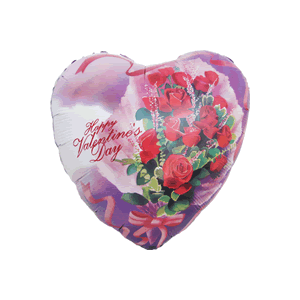 Rose Bunch Valentine Balloon in a Box
