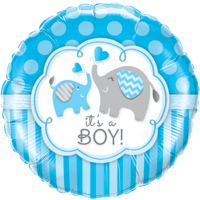 Cute It's a Boy Balloon in a Box