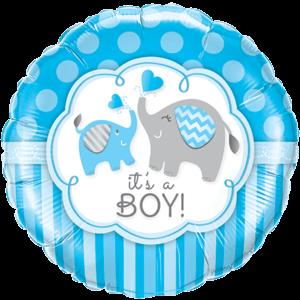 Cute It's a Boy Balloon in a Box