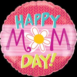 Happy Mum Day Daisy Balloon in a Box