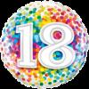 18th Birthday Single Balloon Category