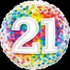 21st Birthday Single Balloon Category