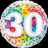 30th Birthday Single Balloon Category