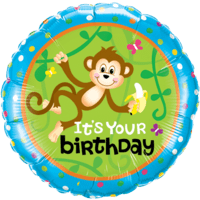 Monkey Go Bananas Birthday Balloon in a Box