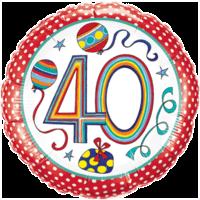 Rachel Ellen 40 Colourful Balloon in a Box