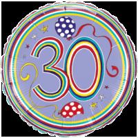 Rachel Ellen Stripes & Dots Balloon in a Box