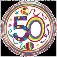 Rachel Ellen 50 Colourful Balloon in a Box