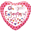 """18"""" On Your Engagement Balloon overview"""