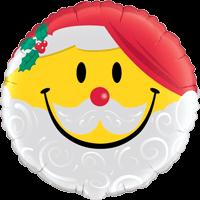 Santa Smile Face Balloon in a Box