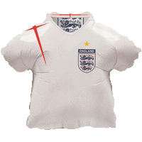 England Football Shir Balloon in a Box