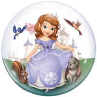 Disney Sofia the First Princess Balloon in a Box