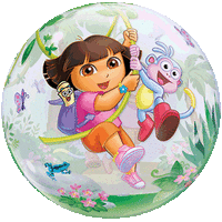 Dora and Boots Exploring Balloon in a Box