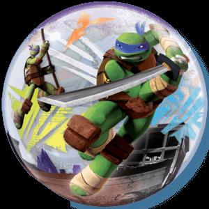 Two Sided Mutant Ninja Turtles Bubble