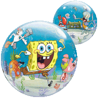 Spongebob Characters Bubble Balloon in a Box