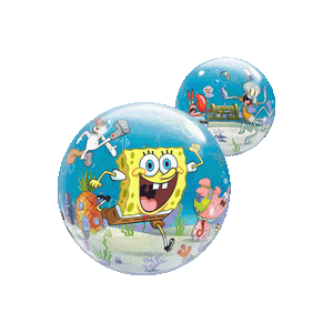 Spongebob Squarepants Friends Bubble Balloon in a Box
