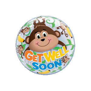 Get Well Soon Monkey Jungle