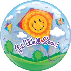 Huge Bubble Kite Get Well