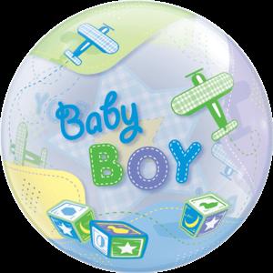 Huge Bubble Baby Boy