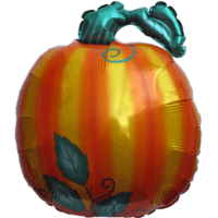 Shiny Pumpkin Balloon in a Box