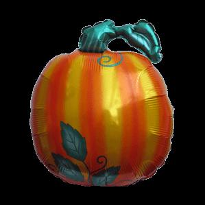 Shiny Pumpkin Balloon in a Box