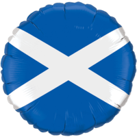 Scotland Flag Balloon in a Box