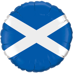 Scotland Flag Balloon in a Box