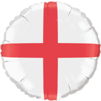 England Flag Balloon in a Box