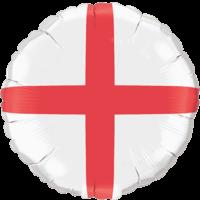 England Flag Balloon in a Box