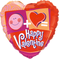 Do The Math Valentines Balloon in a Box