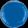 """18"""" Round Dark Blue Foil Balloon overview"""