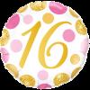 16th Birthday Single Balloon Category