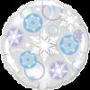 "18"" Snowflake Deco Balloon overview"