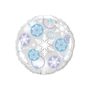 Snowflake Impressions Balloon in a Box