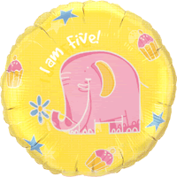 I Am Five Elephant