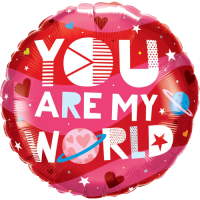 You Are My World Balloon in a Box