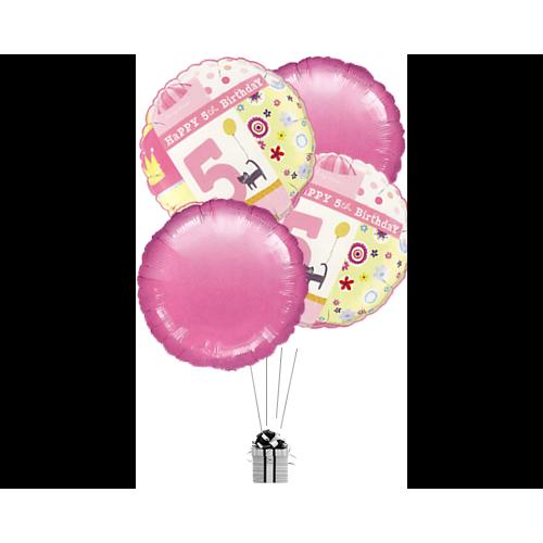 Happy Pink 5th Birthday