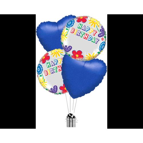 Personalised Happy Birthday Flowers