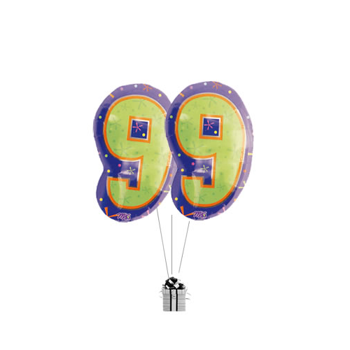 Big 99th Birthday Numbers