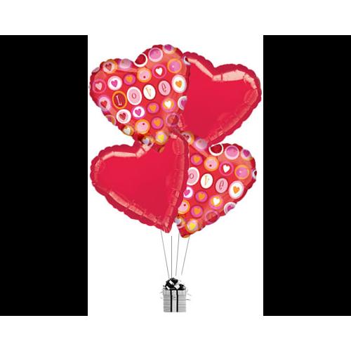 Lots of Love Hearts