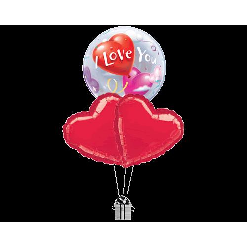 Love Bubble & Hearts