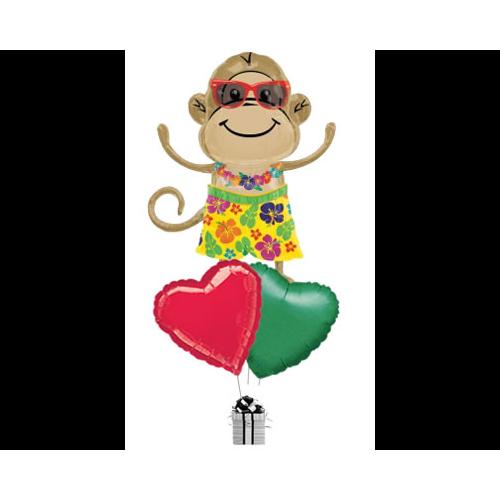 Mr Hula Monkey Love
