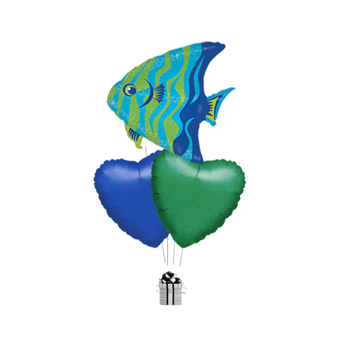 Brilliant Blue Angelfish